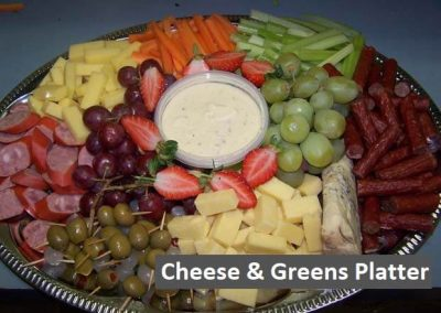 Cheese-and-Greens-Platter
